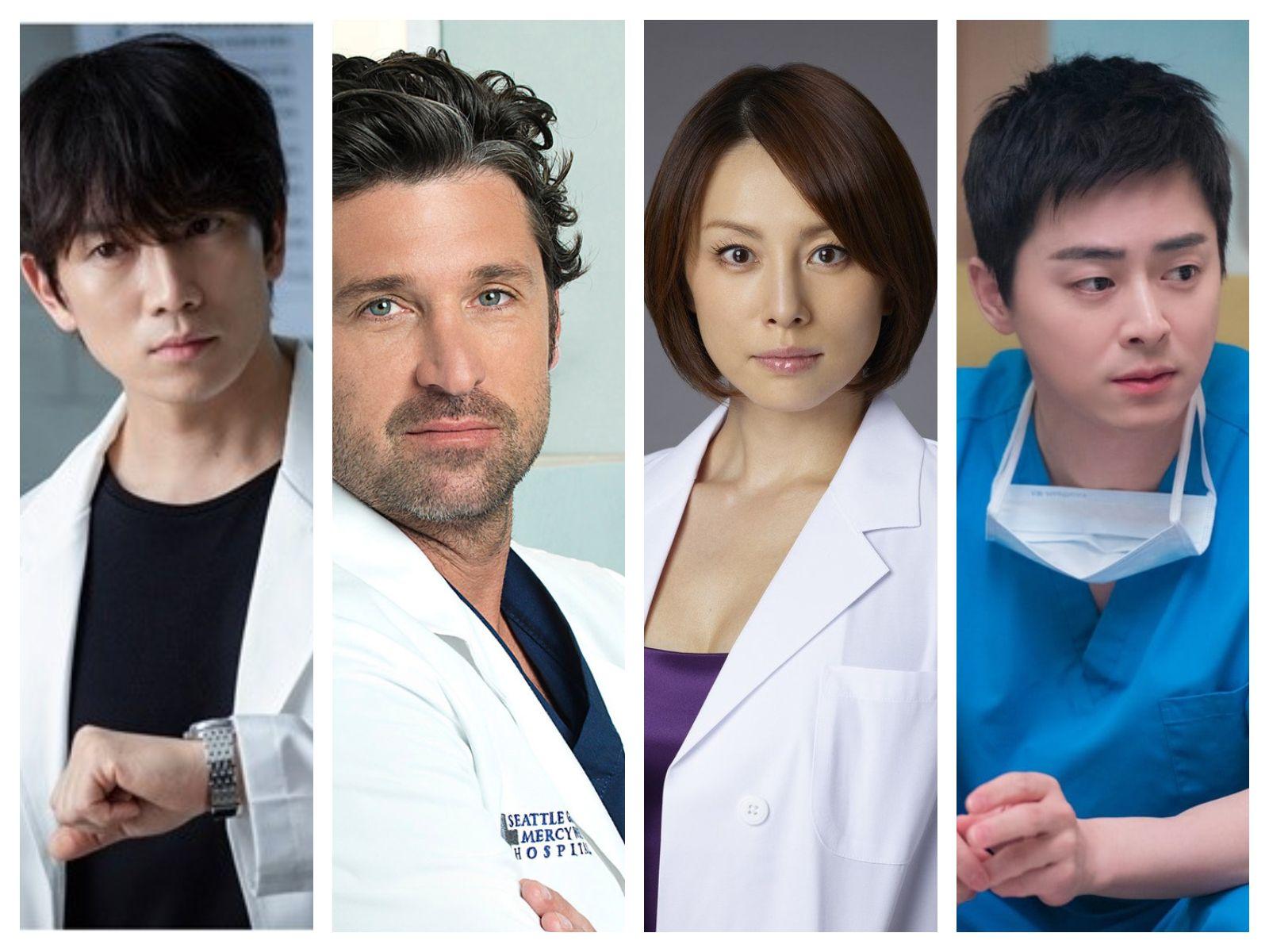 Ji Sung, Patrick Dempsey, Ryōko Yonekura, Jo Jung Suk