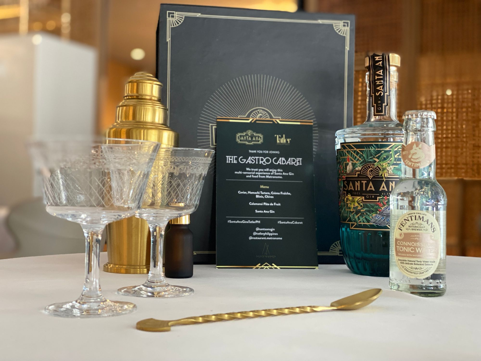 Santa Ana Gin Transports Tatler Friends Back In Time With A Joyous Virtual Party