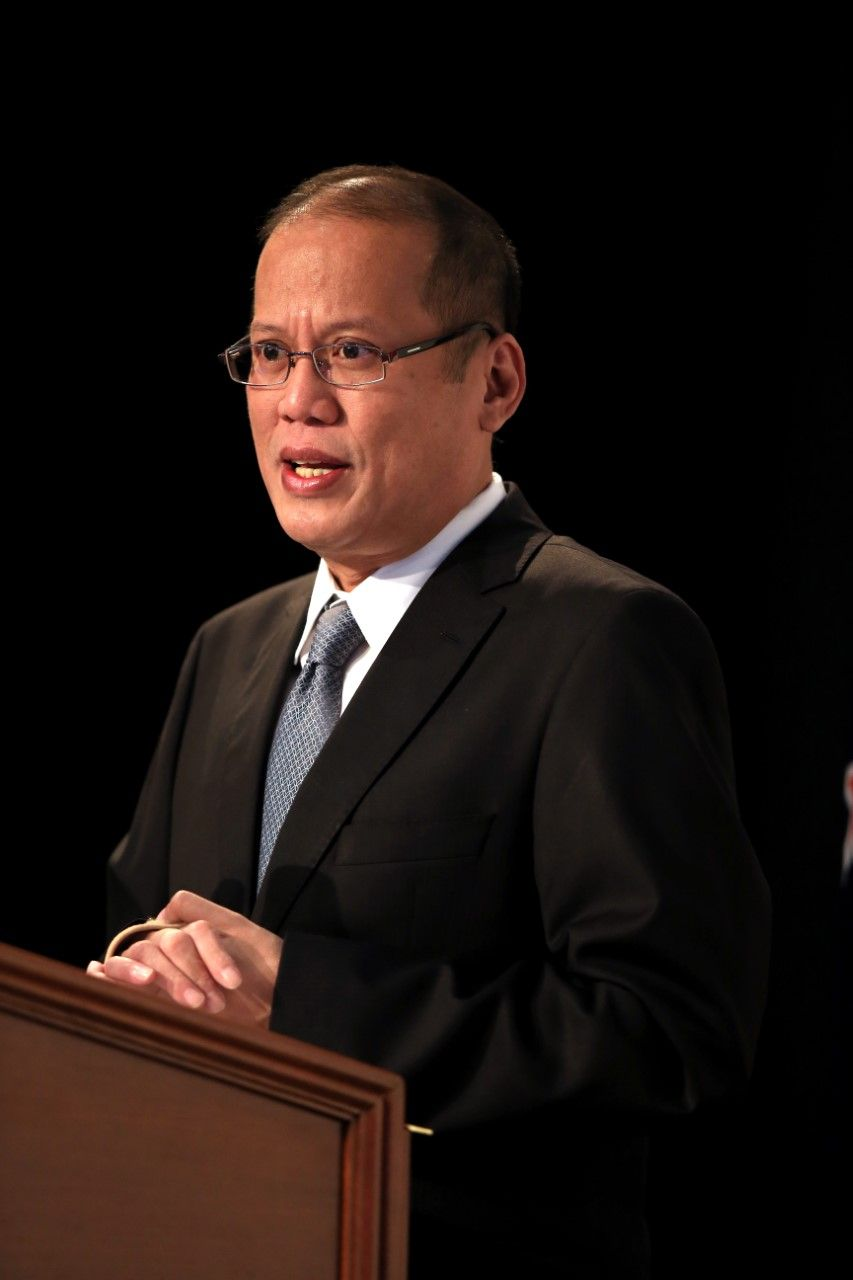 AUCKLAND, NEW ZEALAND - OCTOBER 23: Philippine President Benigno Aquino III addresses the Philippines-NZ Business Forum at the Sky City Convention Centre on October 23, 2012 in Auckland, New Zealand. President Aquino is in New Zealand and Australia this week for trade talks, returning to the Philippines on Friday. (Photo by Phil Walter/Getty Images)