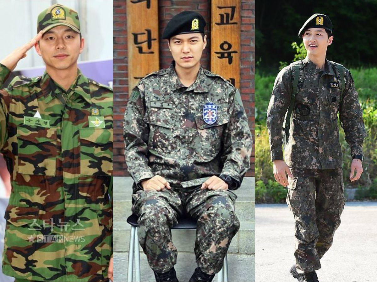 From Song Joong Ki To Gong Yoo: 10 Famous Korean Stars Who Served In The Military