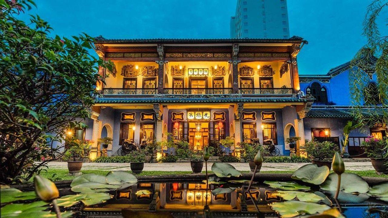 Blue Mansion in Penang. Photo courtesy of Blue Mansion