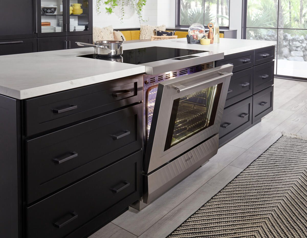 The All-New Wolf Induction Range is the quickest way to enjoy delicious meals.