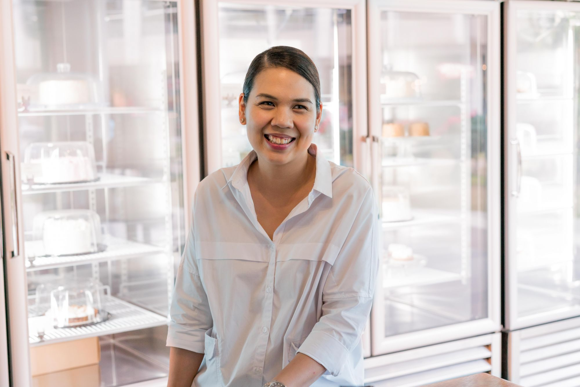 Chef and restauranteur Baba Ibazeta-Benedicto, the talented woman behind Classic Confections and Nono's