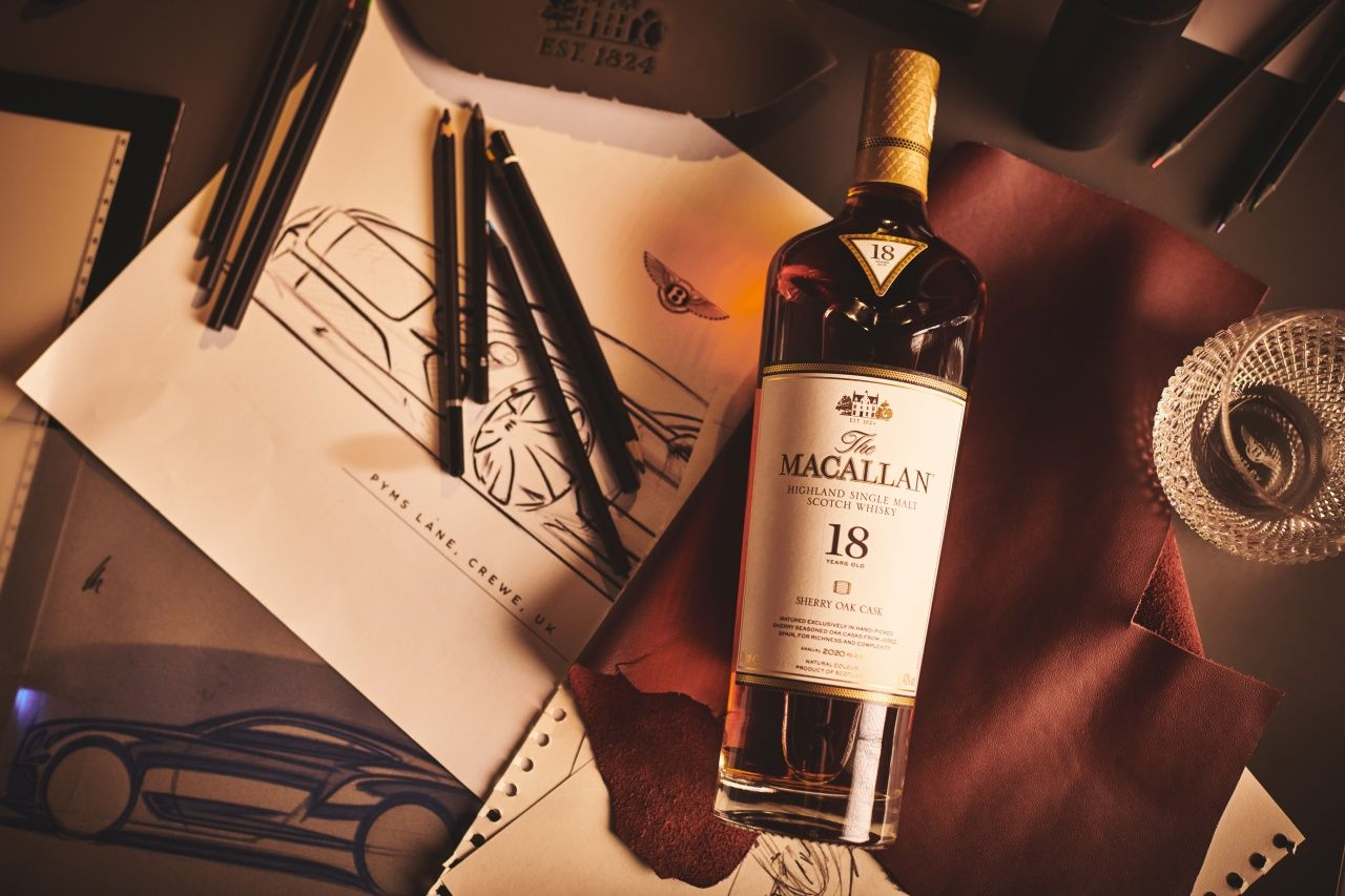 The Macallan is renowned for their single malt Scotch whisky