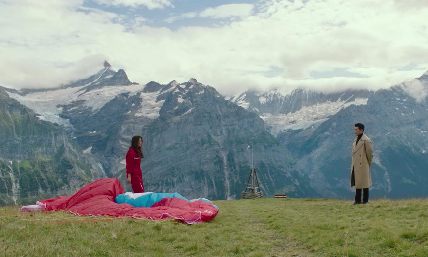 First Flieger, Grindelwald. Photo: Netflix
