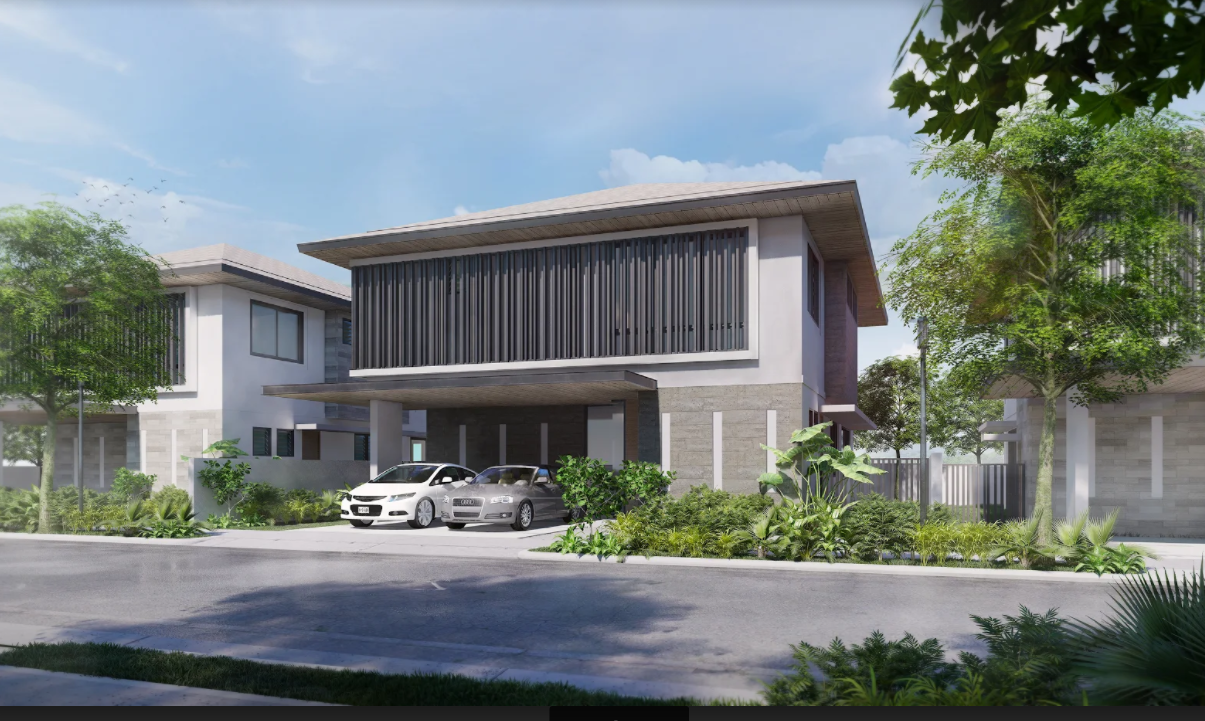 Model house: Rockwell South at Carmelray