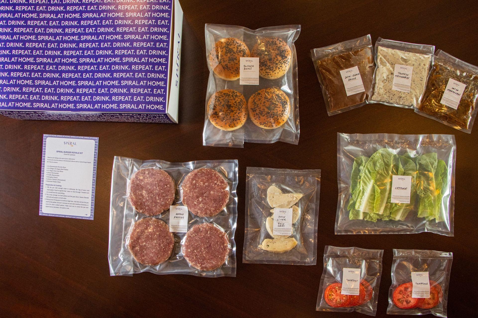 DIY burger kit
