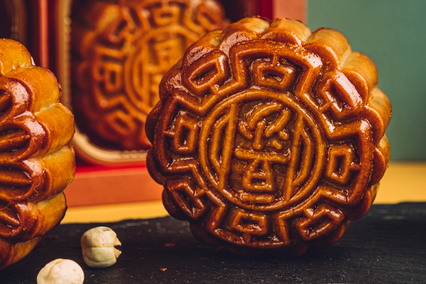 This year, these premium mooncakes come in four different flavours