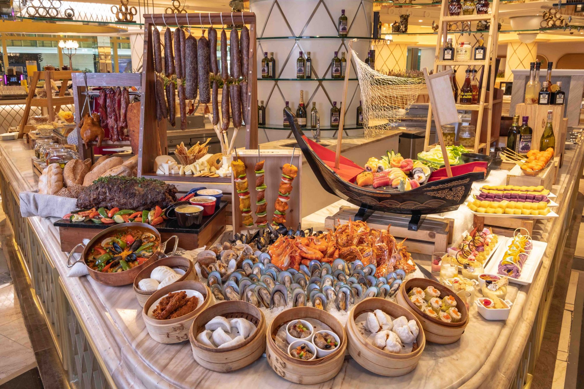 Enjoy the flavours of Asia with Okada's Medley Buffet