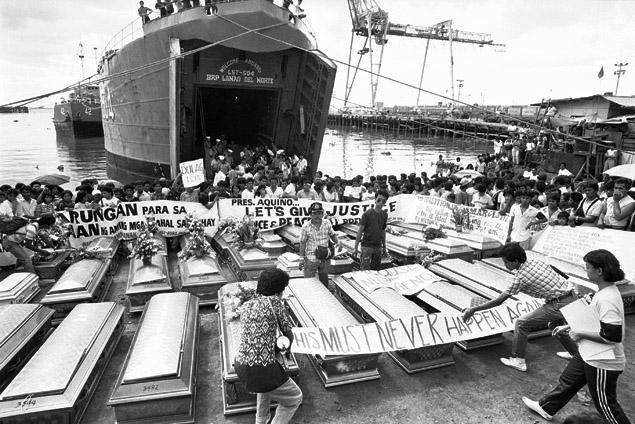 The aftermath of the MV Doña Paz tragedy. │Photo: Philippine Lifestyle News