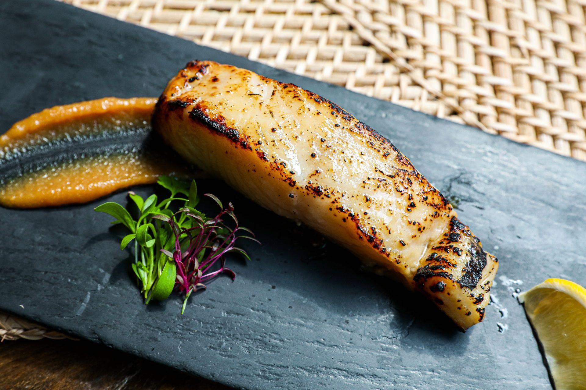 Black Cod in Honey Miso