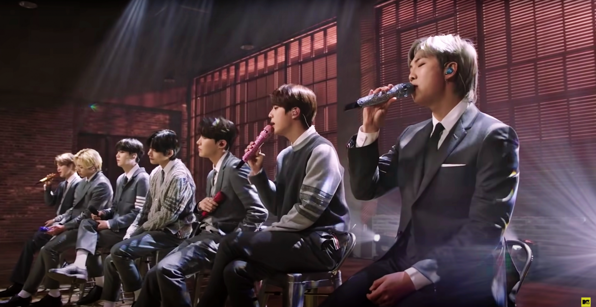 BTS performs 'Fix You' by Coldplay for MTV Unplugged | Photo: Screencap from Youtube