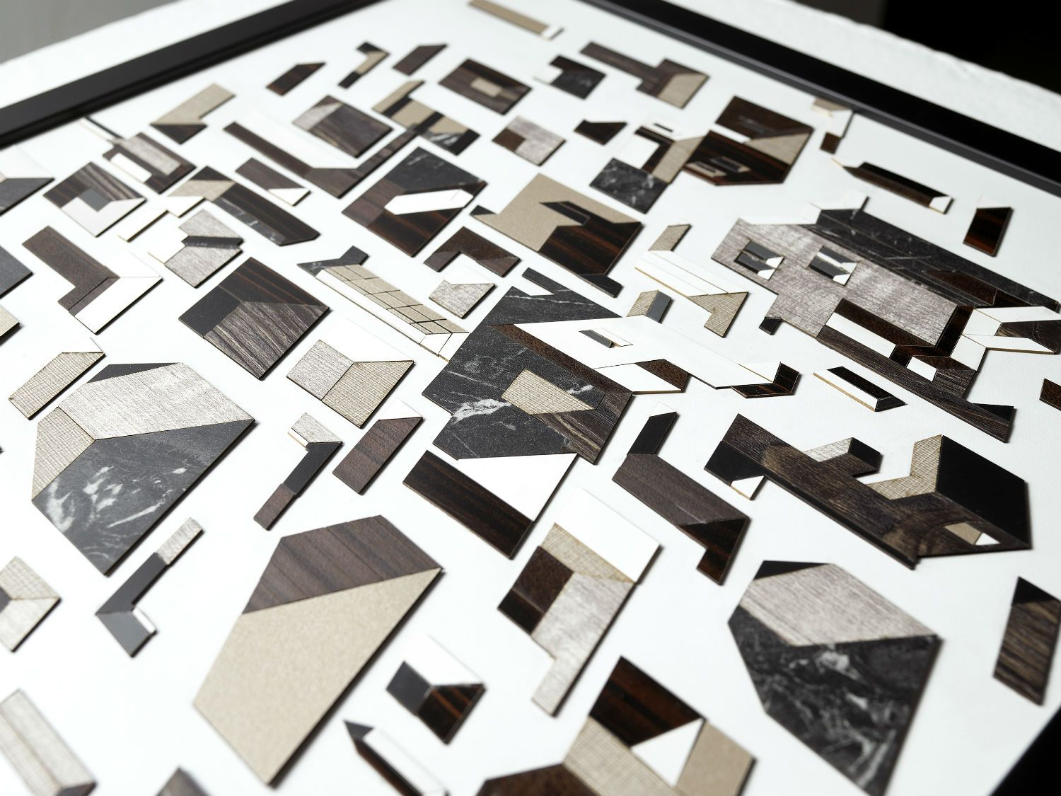 This Local Design Firm Creates Compelling Collages Out Of Laminates