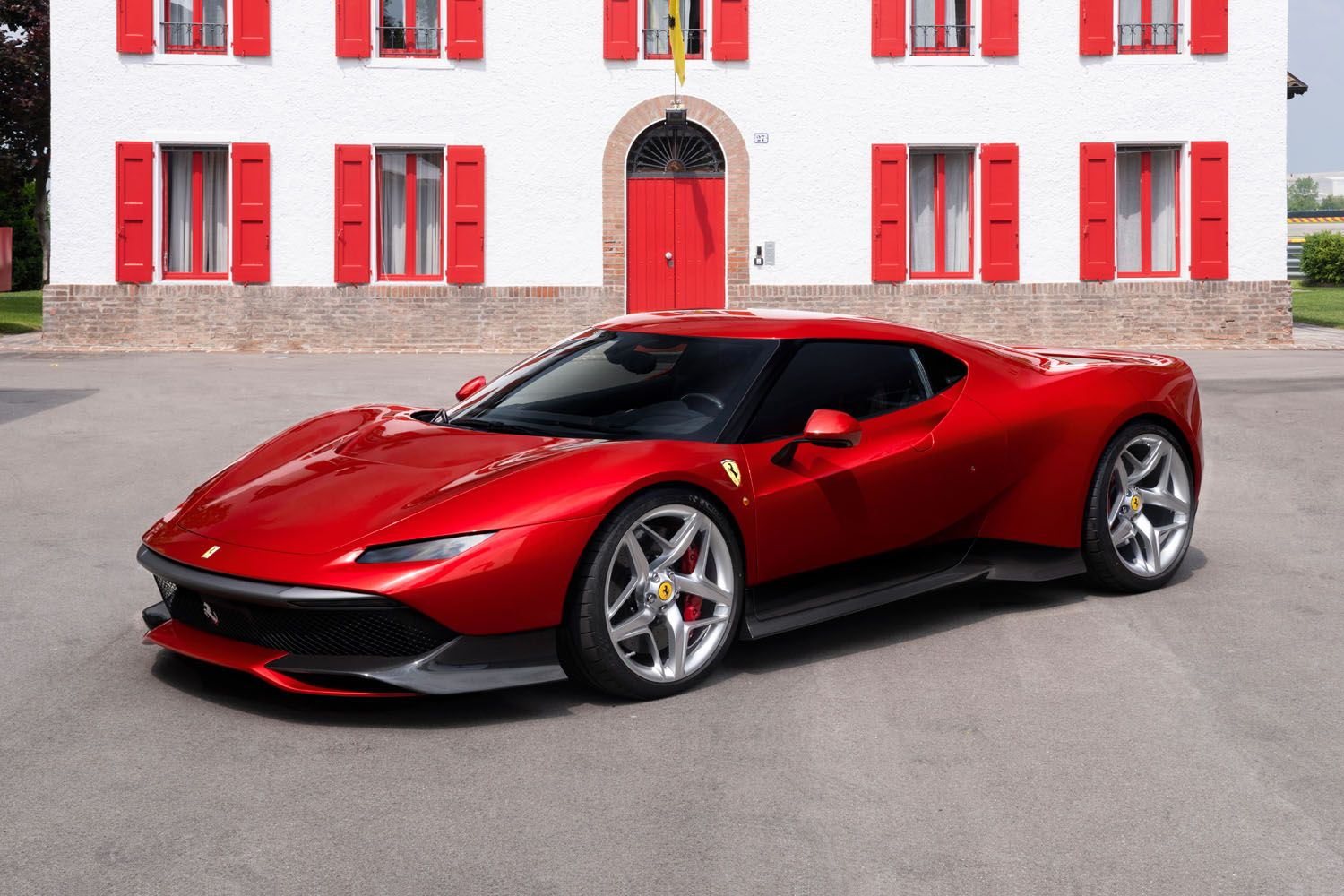 A Look At Ferrari's One-Off SP38 Supercar