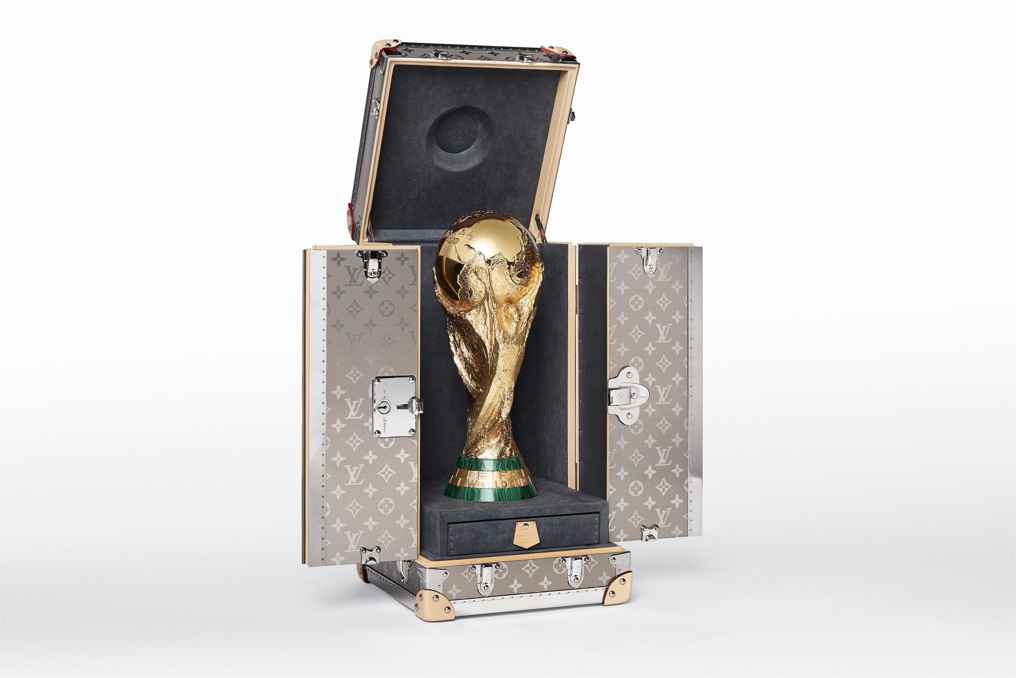 Collector's Item: Louis Vuitton's 2018 FIFA World Cup Trophy Trunk