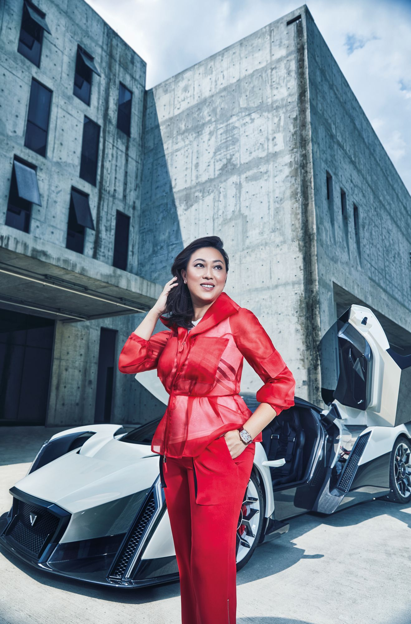 Vanda Electrics' Larissa Tan On Singapore's First Electric Hypercar