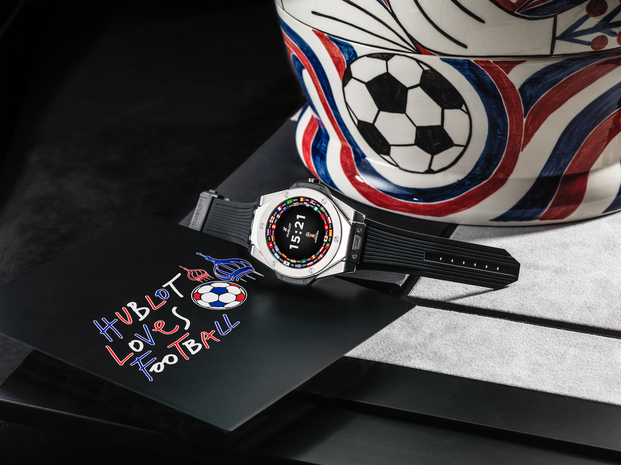 Football Fever: Playing Ball With Hublot's First Ever Smartwatch