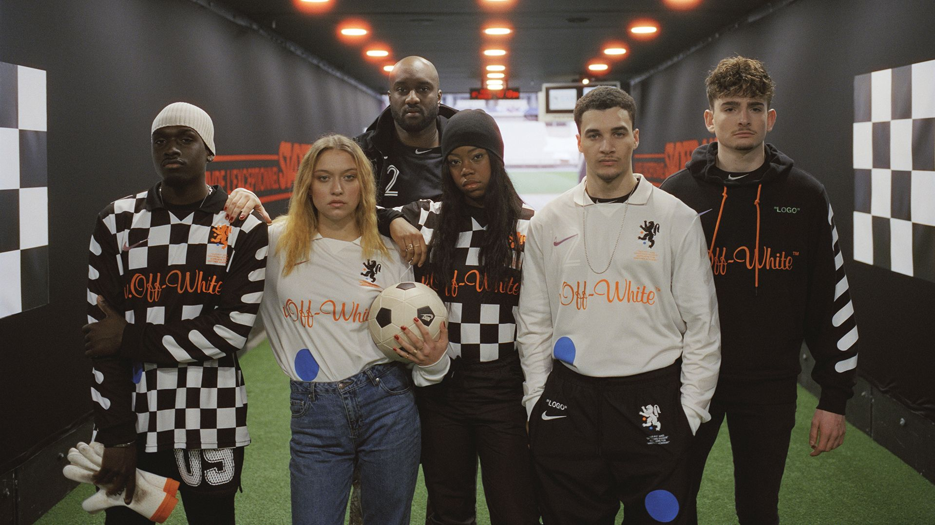 Kim Jones And Virgil Abloh Add A Stylish Spin To The Football Kit For Nike