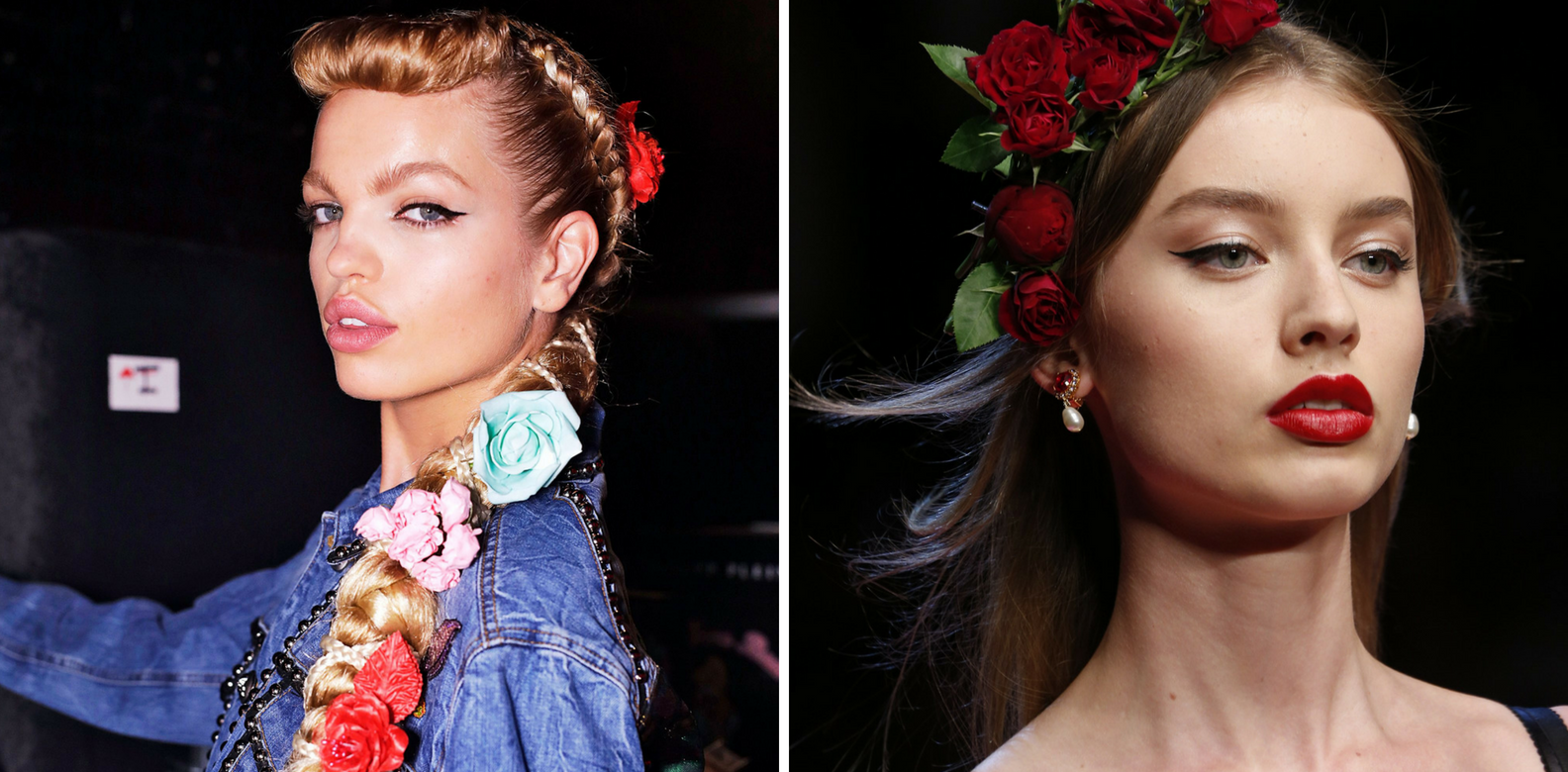 Runway Trend To Try: Flowers In Your Hair