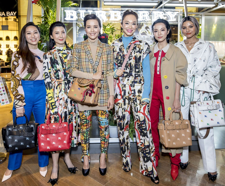 Oon Shu An, Jeanette Aw, Zoe Tay, Fann Wong, Yoyo Cao, Tabitha Nauser