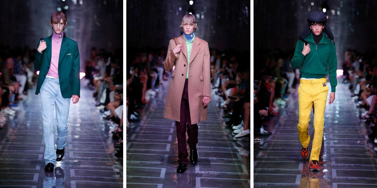 Men's Fashion Week Highlights For Spring/Summer 2019