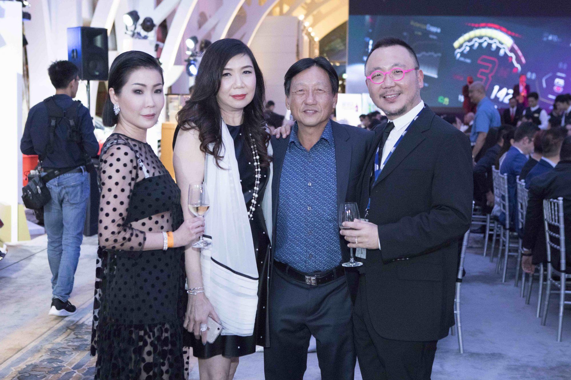 Elaine Lim-Chan, Sharon Heng, Philip Heng, Chan Kok Weng