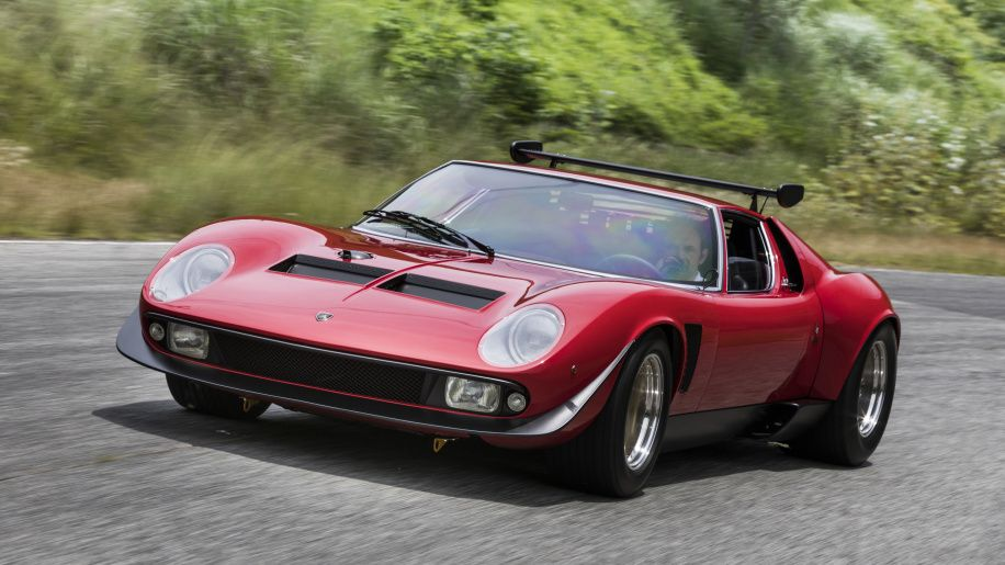 Restored 1978 Lamborghini Miura SVR (Photo: Courtesy of Lamborghini Polo Storico)