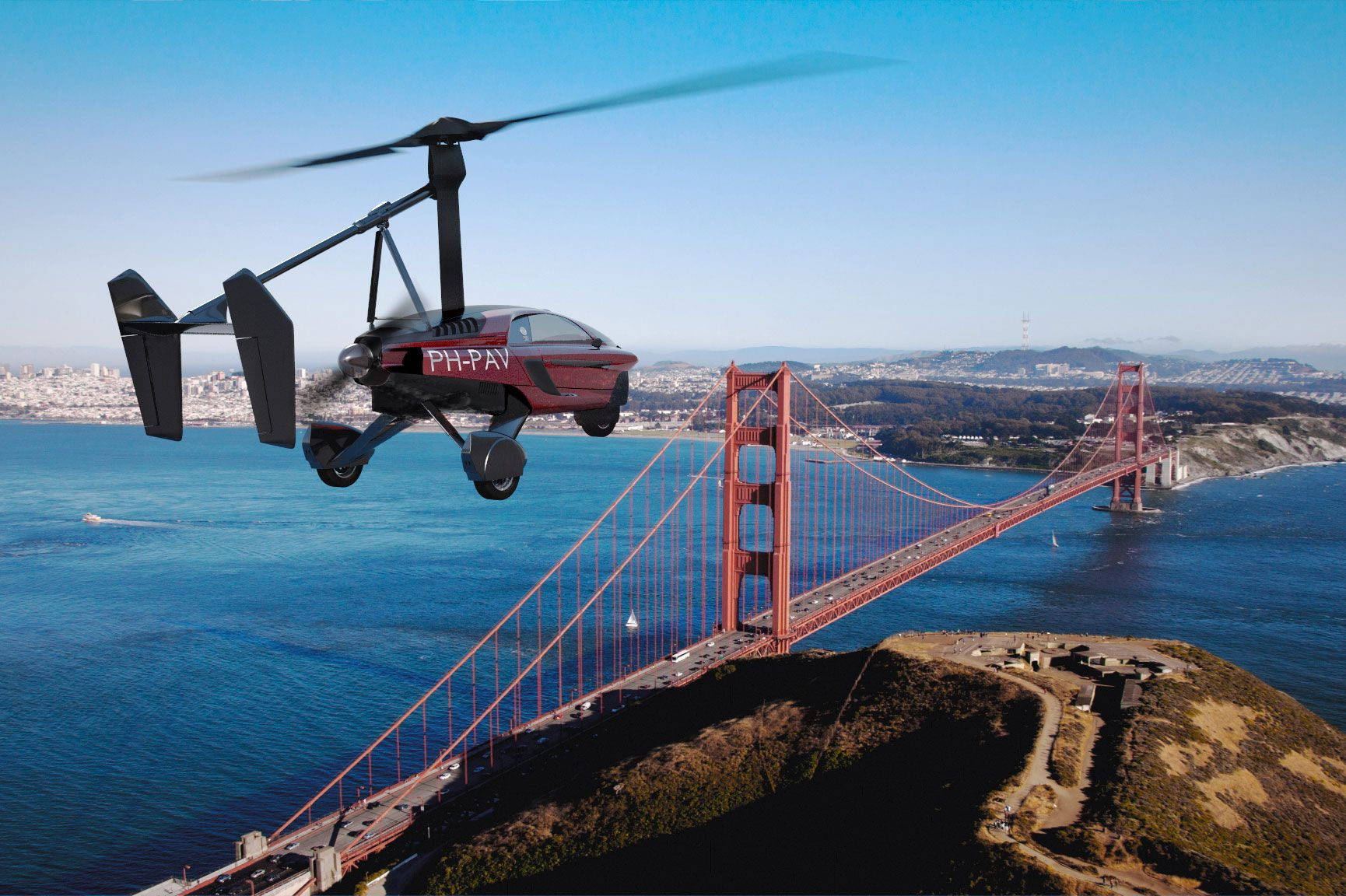 Flying Car To Debut At Farnborough International Airshow