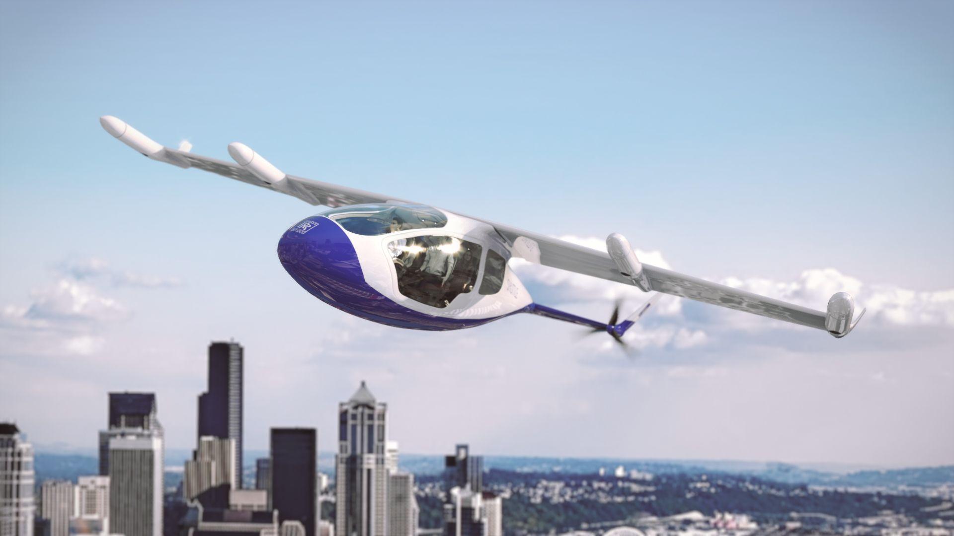 Rolls-Royce Unveils A Hybrid Flying Taxi