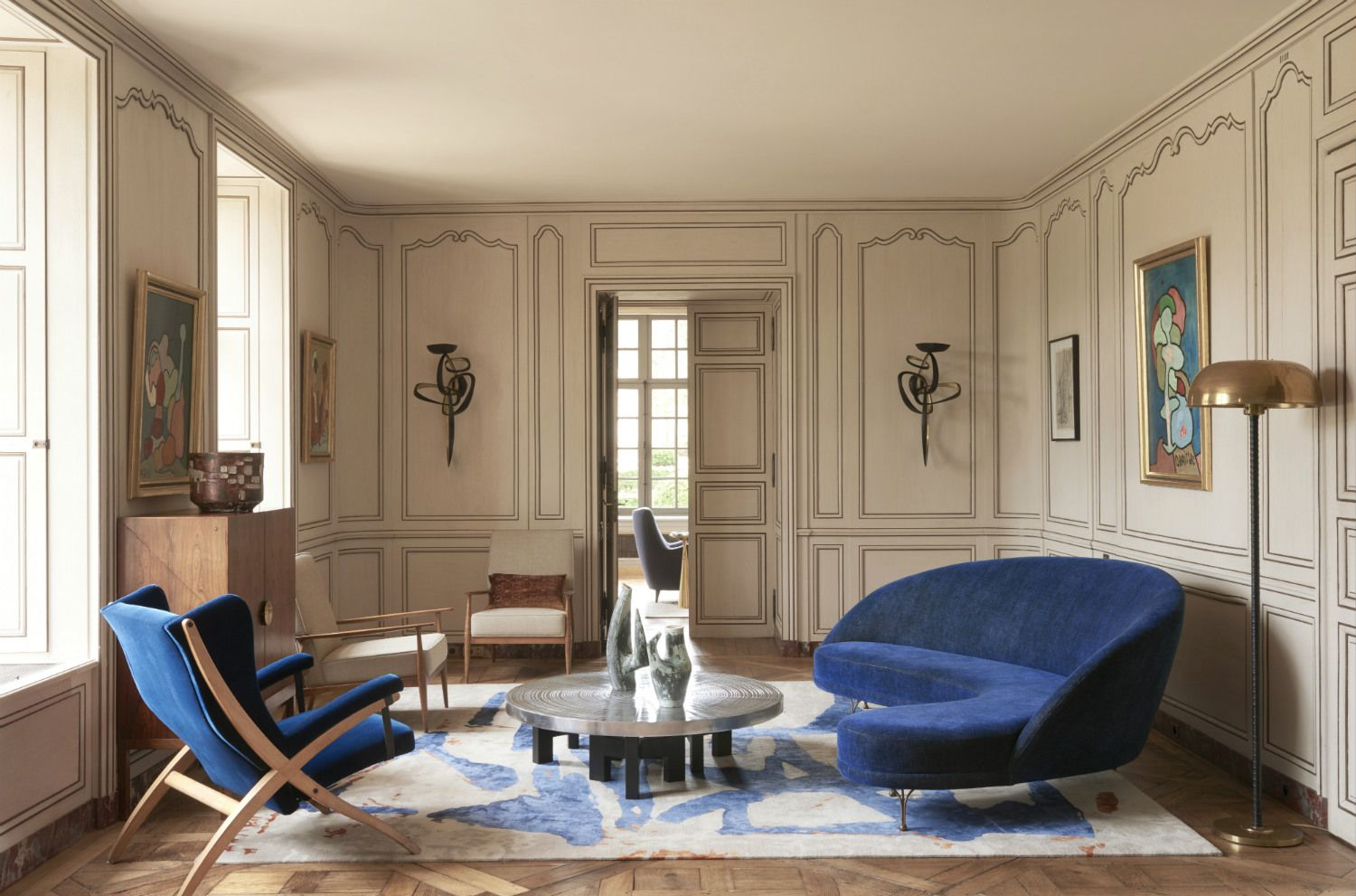 Home Tour: A French Château With An Incredible Sense of Style