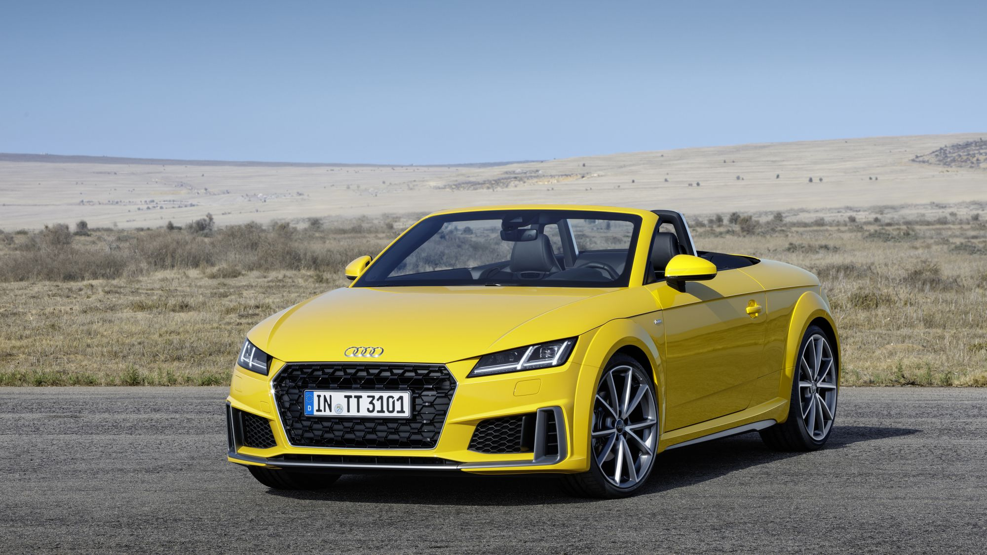 Audi Reveals Improved Version of Its Iconic TT Model