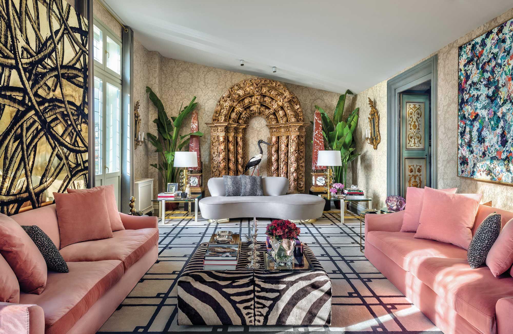 Step Into Aquazzura Founder Edgardo Osorio's Eclectic Florentine Home