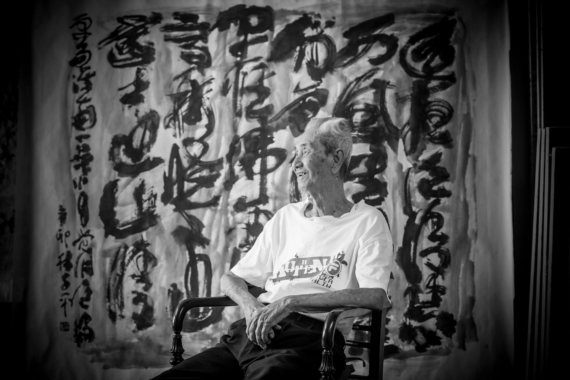 5 Minutes With... Lim Tze Peng, Singapore's Oldest Living Artist