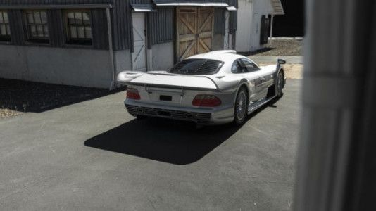 Rare 1998 Mercedes-Benz AMG CLK GTR Goes Under The Hammer