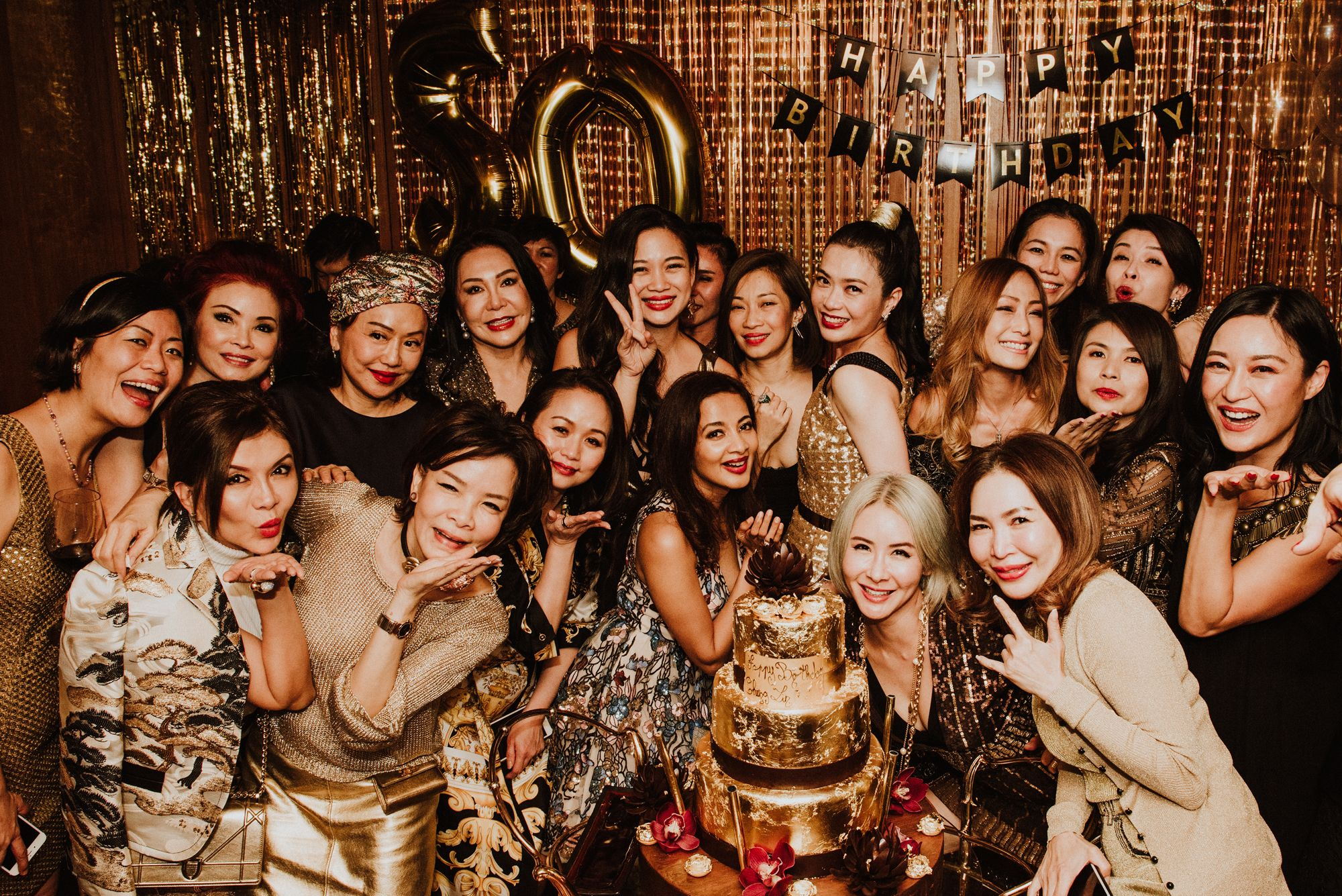 Ho Ching Lin's Solid Gold Birthday Celebration