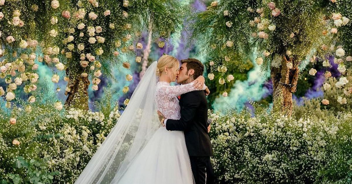 The Best Moments From Chiara Ferragni And Fedez's Wedding Extravaganza