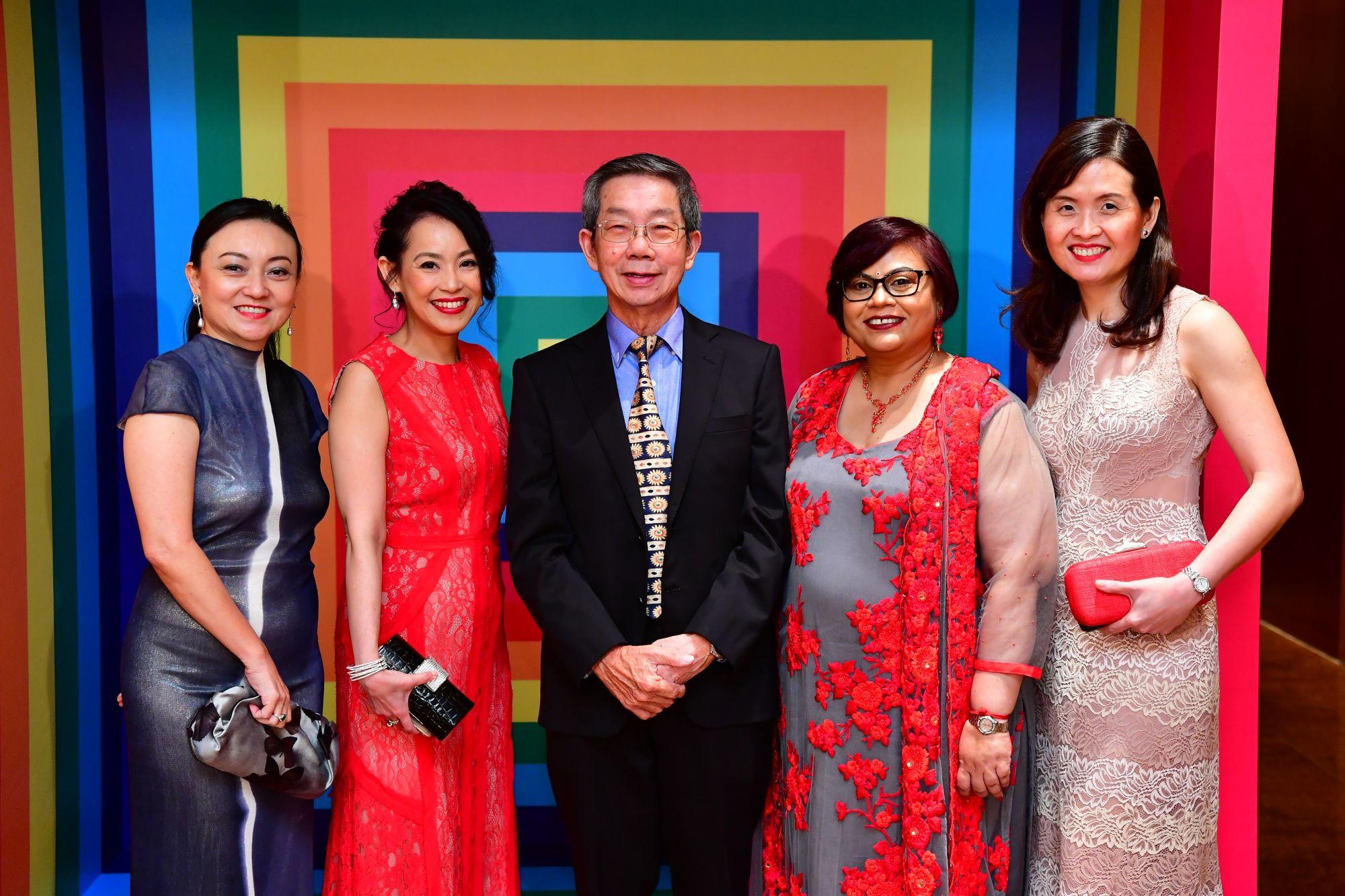 Goh Shuet-Li, Jennifer Chia, Heng Chiang Meng, Jamuna Rani Govindaraju, Audrey Looi