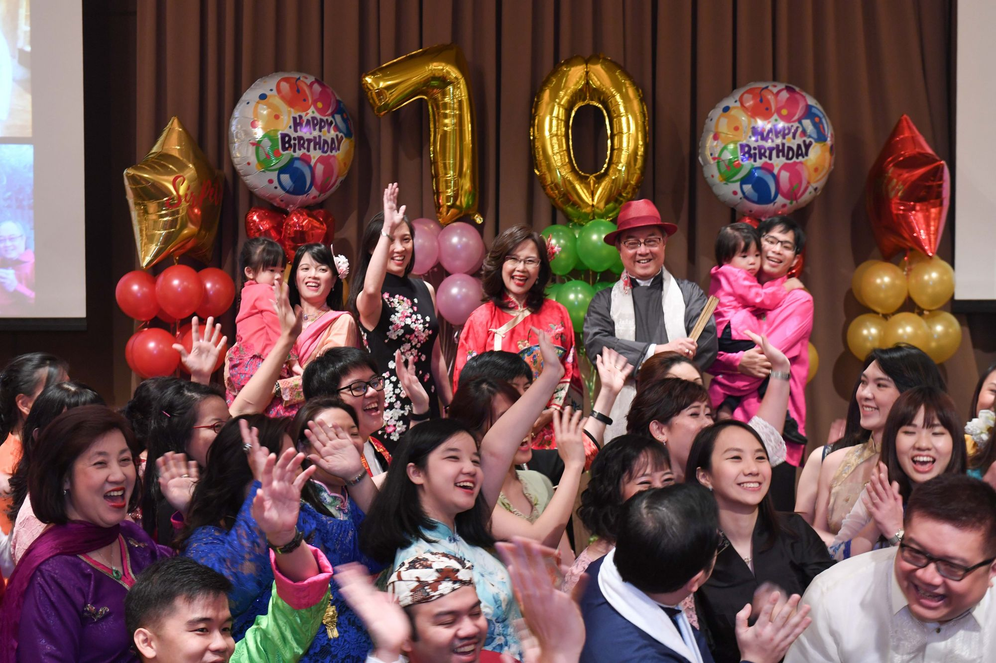 Peter Low's 70th Birthday Party