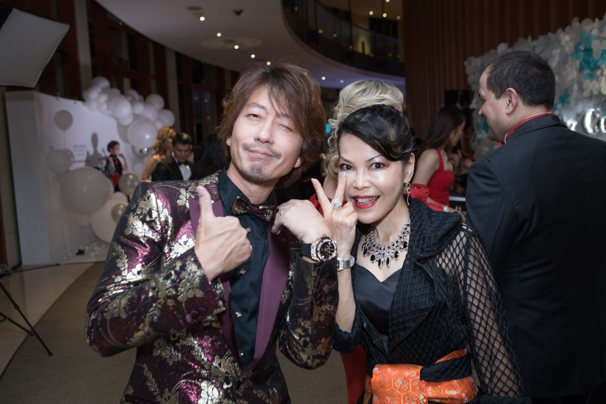 Kimihisa and Kyoko Abe