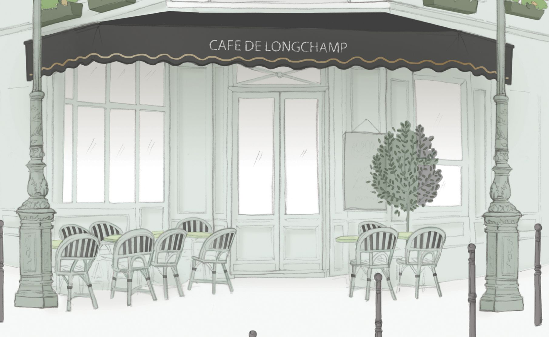Longchamp Transforms Orchard Road Into The Streets Of Paris