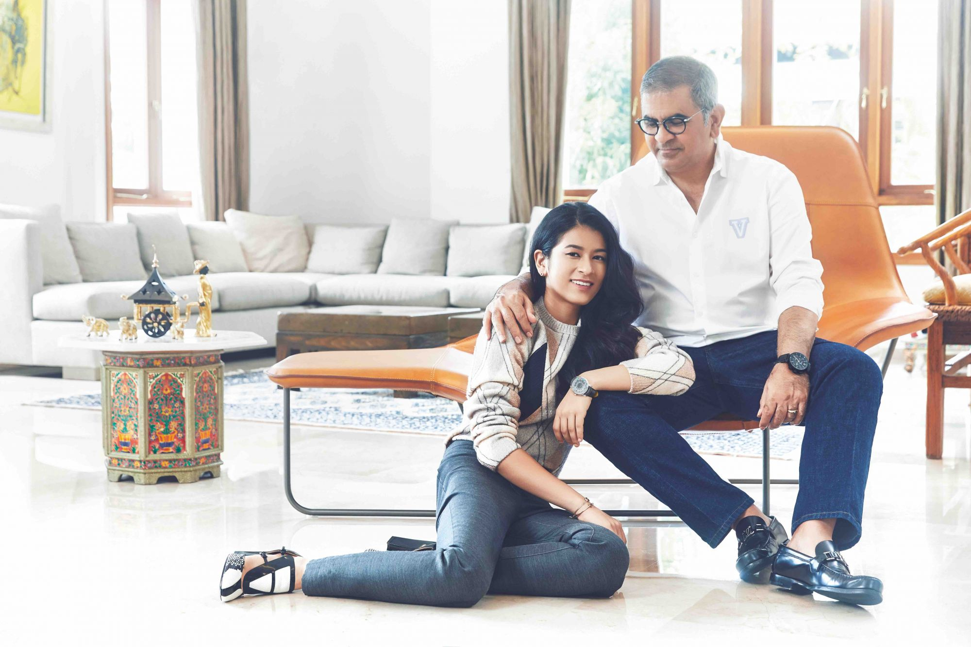 Why A Louis Vuitton Tambour Makes The Perfect Object To Symbolise A Father-Daughter Relationship
