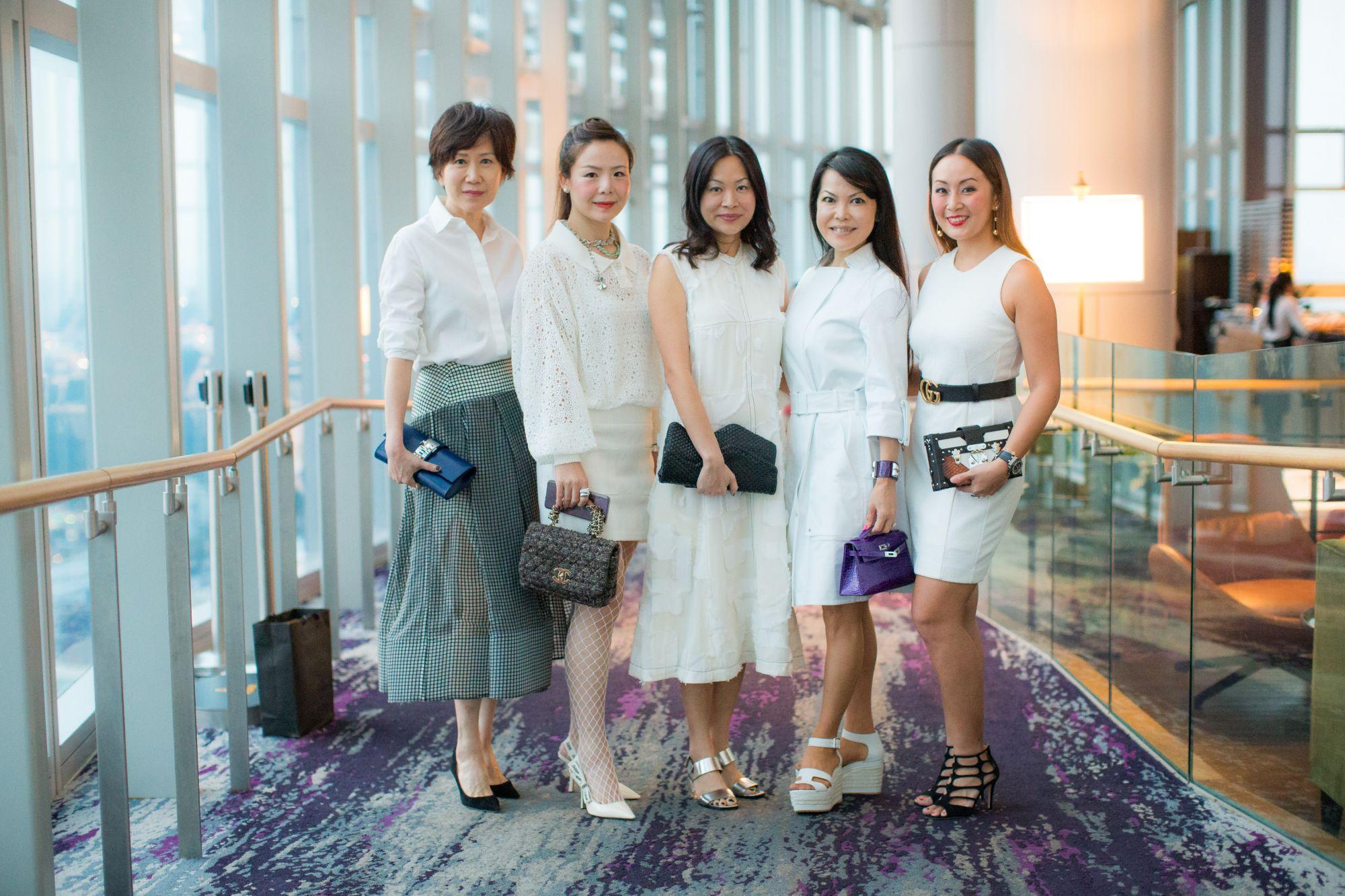 Nancy Ong, Andrea Chow, Sonia Ong, Kyoko Abe, Serene Chua