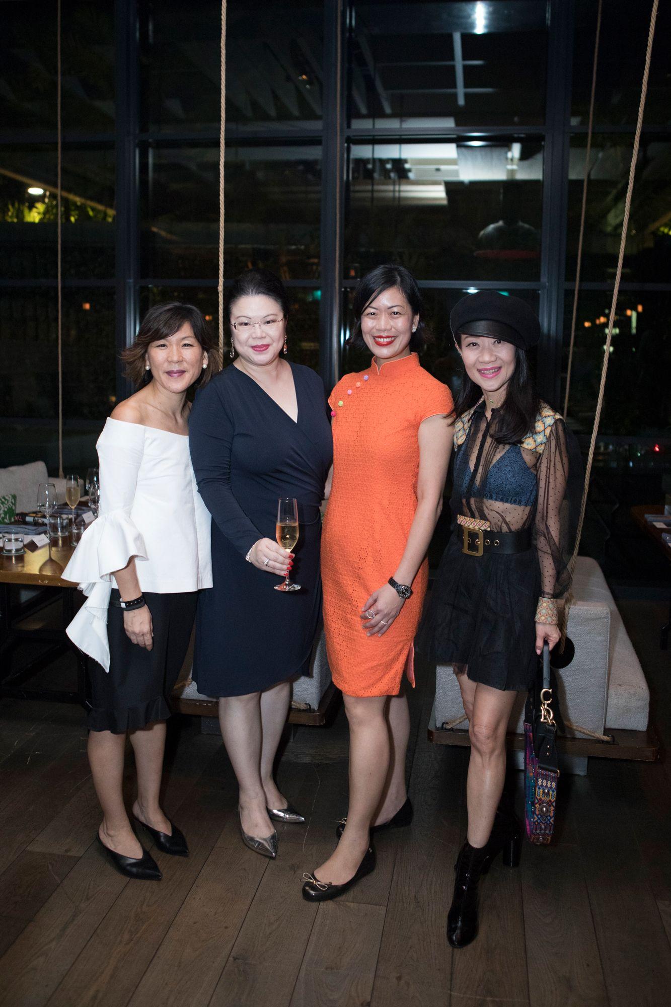 Aimee Bennett, Lam Min Yi, Jade Kua, Dana Cheong