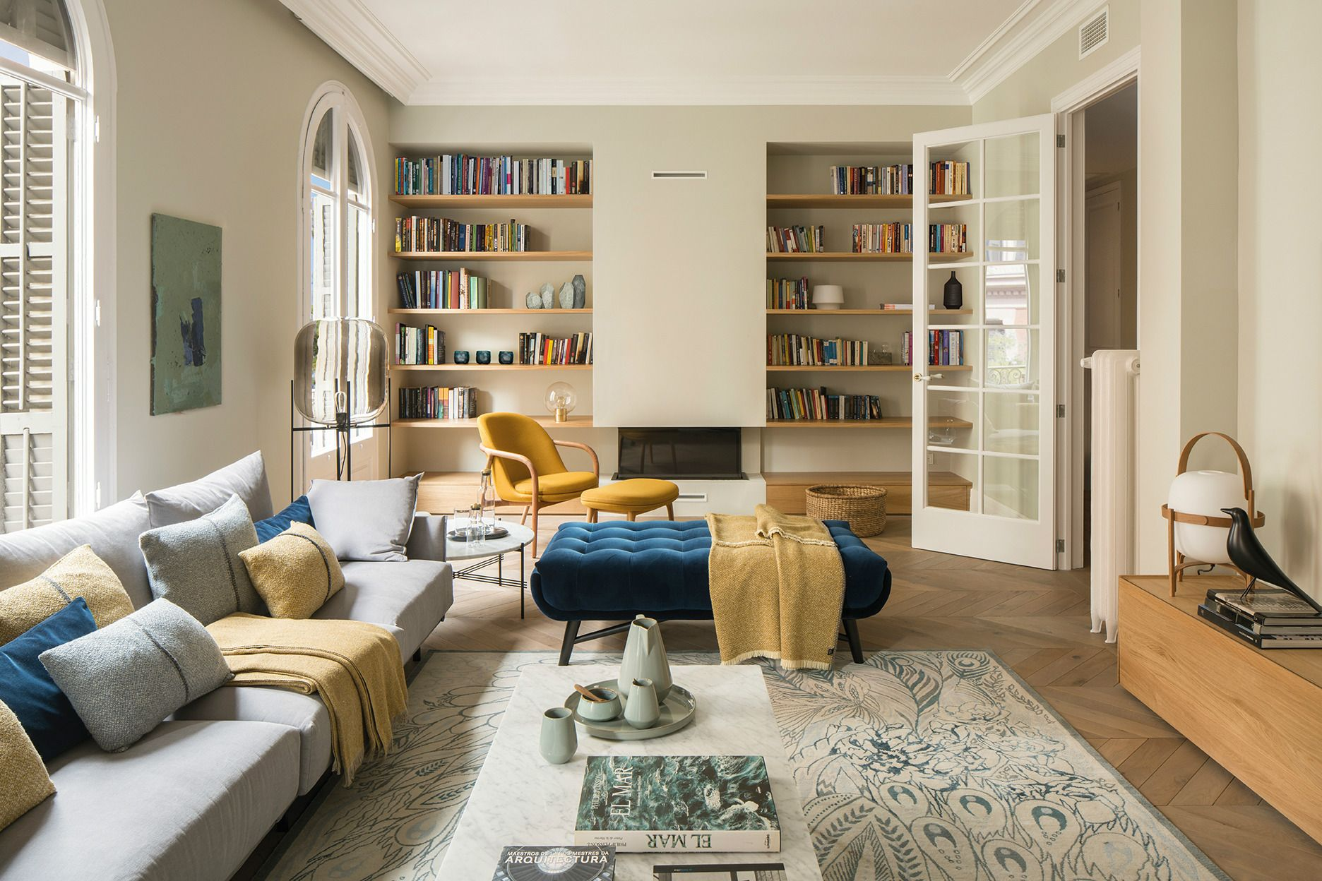 Home Tour: A Mid-Century Apartment With A Mediterranean Soul