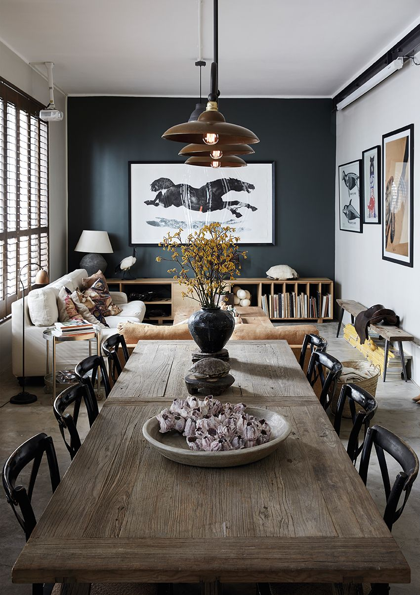 Home Tour: A Chef's Chic Monochromatic Apartment In South Africa