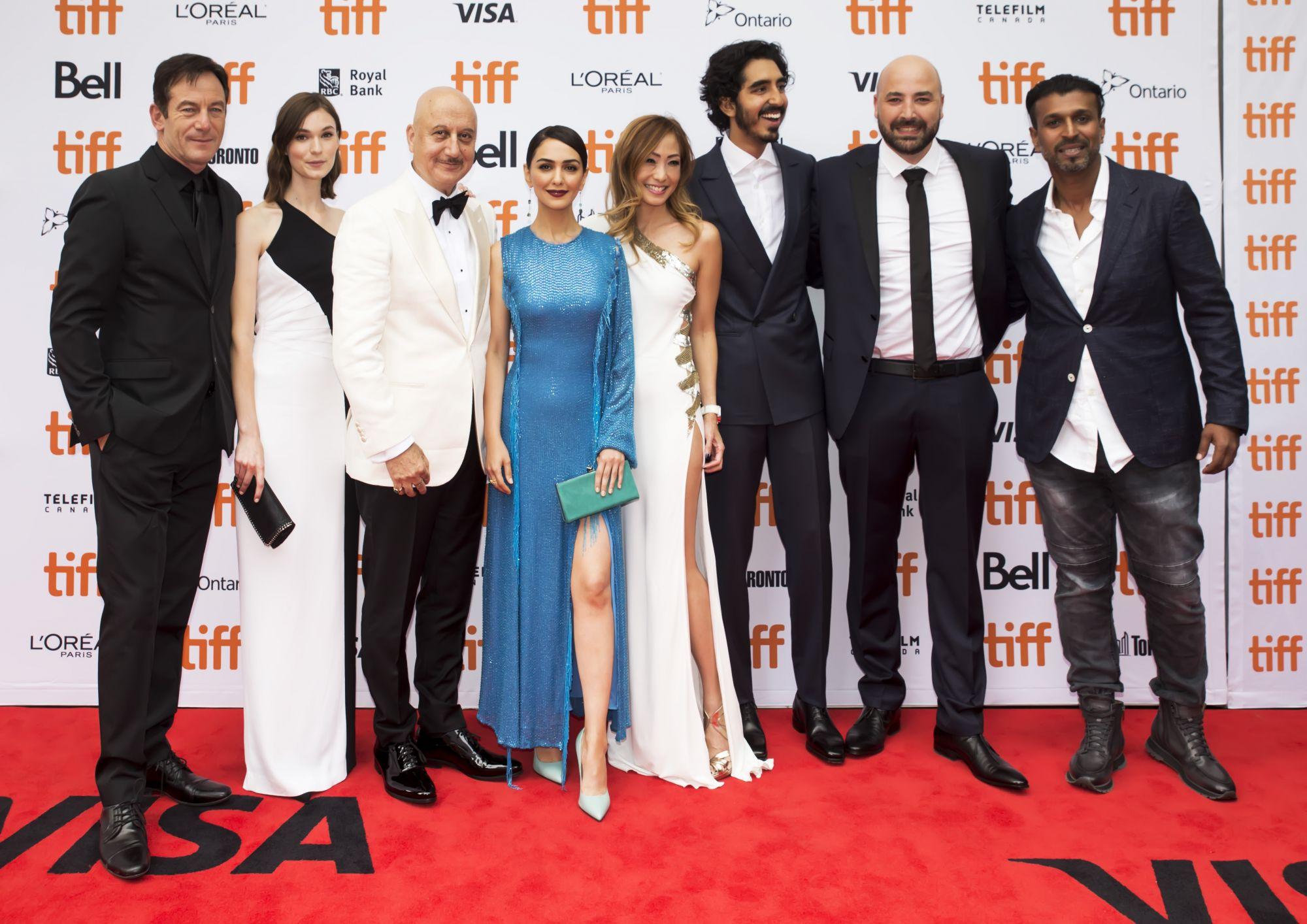 Jason Isaacs, Tilda Cobham-Hervey, Anupam Kher, Nazanin Boniadi, Tan Min-Li, Dev Patel, Anthony Maras