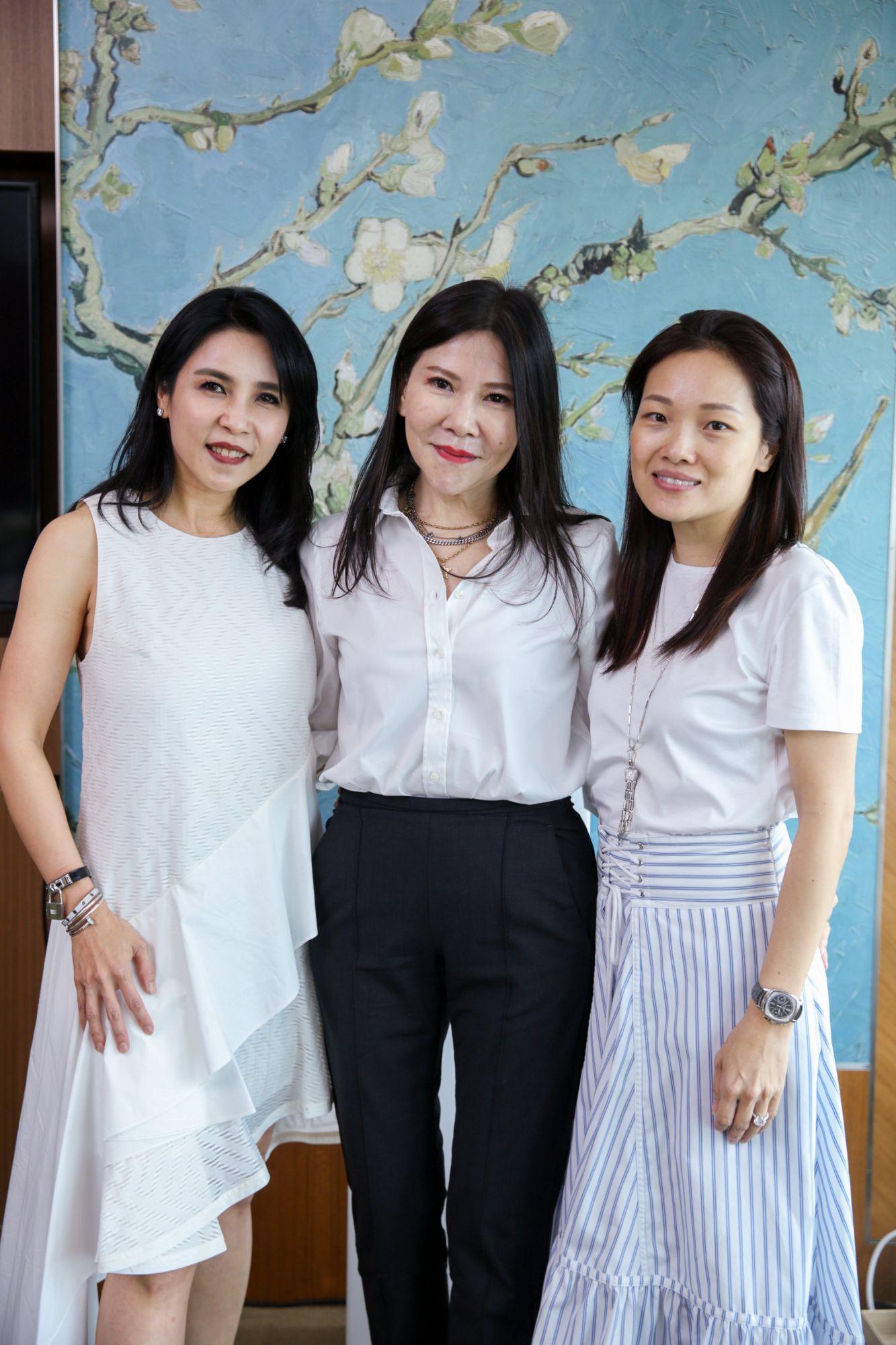 Fanty Soenardy, Jane Heng, Evelyn Yeoh
