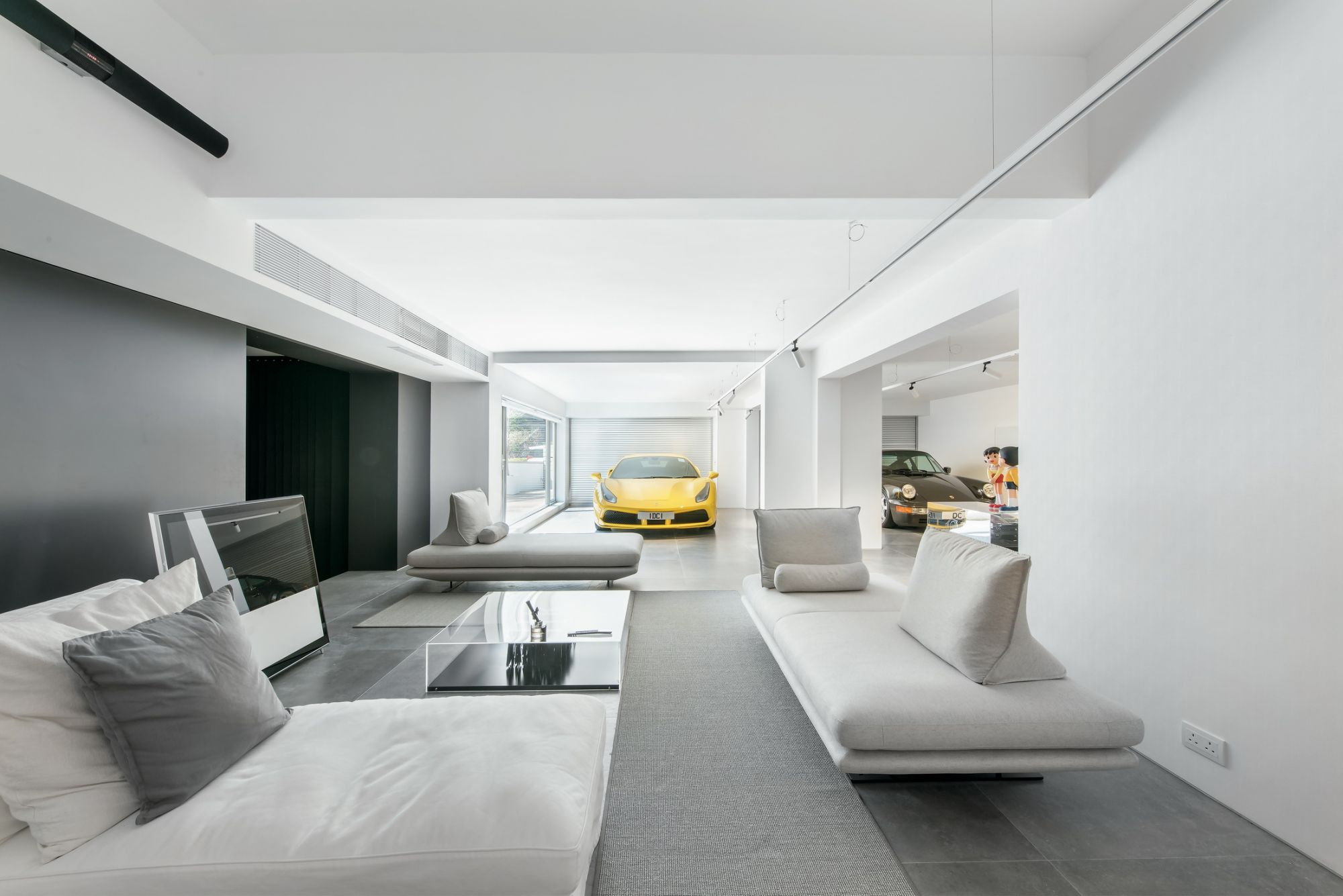 The Ultimate Car-And-Art Lover's Home Design