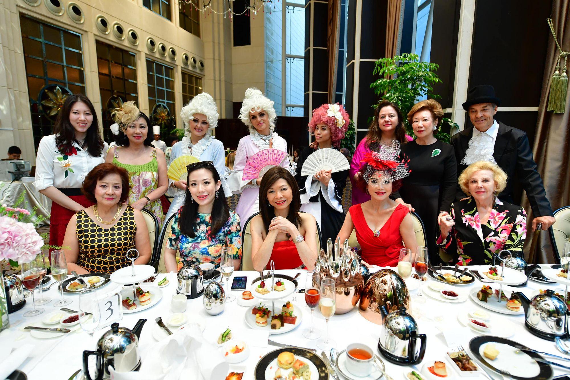 (Clockwise from top left) Zeena Tan, Renee Tan, Elena Iwatake, Jessie Lee, Gerti Iwatake, Linda Soo-Tan, Stephanie Lee, Irene Choo