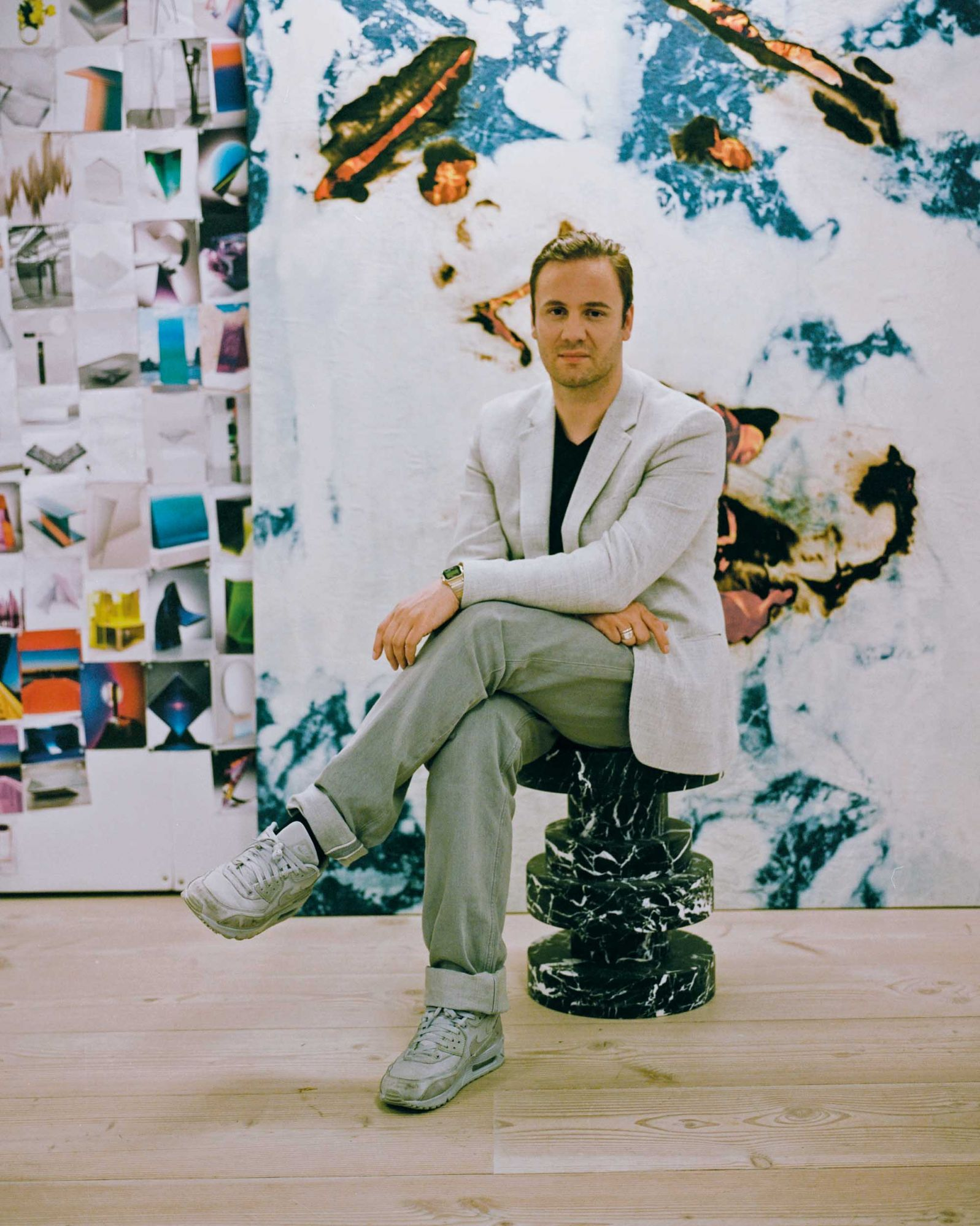 5 Minutes With... Nicholas Kirkwood, British Footwear Designer